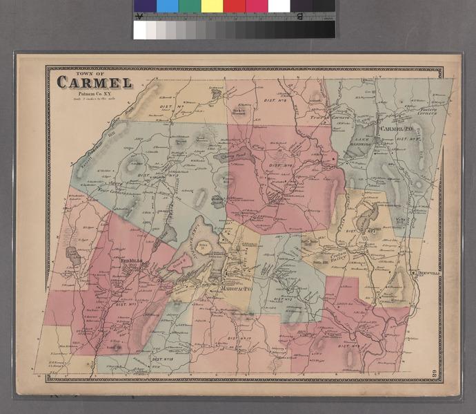 File:Plate 68- Town of Carmel, Putnam Co. N.Y. NYPL1516848.tiff