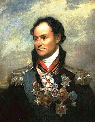 Matvei Platov - Platov's portrait, commissioned in 1814 from William Beechey by Lord Beresford