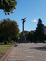 Plaza Italia y columna.JPG