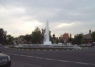 Chamartín (Madrid) - Image: Plaza de la República Argentina (Madrid) 01