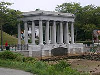 The Plymouth Rock Monument