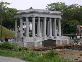 Plymouth Rock Monument.JPG