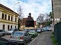 Pod Vyšehradem, kostel svatého Michala se zvonicí (03).jpg