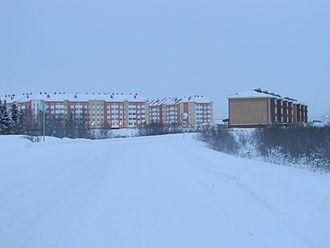 Polar night - Polar night in Naryan-Mar, Russia. December 23, 2014, 11:27 (noon)