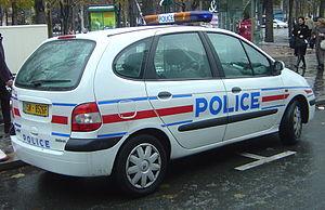 パリのパトカー