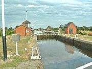 Lock on the Air and Calder Navigation at Pollington
