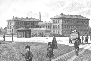 Technical University of Denmark - The College of Advanced Technology's premises in Sølvgade, completed 1889