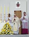 Pope Benedict XVI in Zagreb 03.jpg