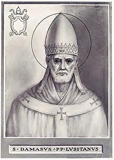 Pope Damasus I Pope
