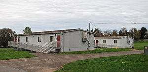 Portable building - One of the most common types of portable building is the portable classroom building.