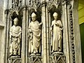 Portal of the North Transept of the Cathedral of Saint-Andre at Bourdaux - detail - CMA - IMG 0612.jpg