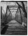 Portal view, looking west - Sulphur Fork Creek Bridge, Spanning Sulfur Fork Creek on Spring Road, Port Royal, Montgomery County, TN HAER TN-27-6.tif