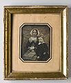Porträtt av sittande kvinna med pojke. 1848 - Nordiska Museet - NMA.0052449 1.jpg
