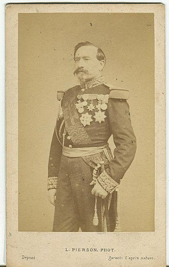 Army of the Rhine (1870) - Général Bourbaki, commander of the Imperial Guard.