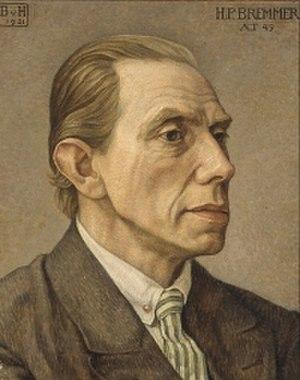 Henk Bremmer - Henk Bremmer (1921); portrait by Bertha van Hasselt (1878-1932)