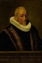 Portrait of Henricus van Zijl (1545-1627)