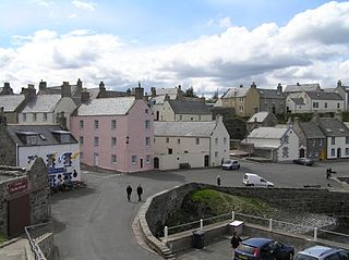 Portsoy village in Aberdeenshire, Scotland