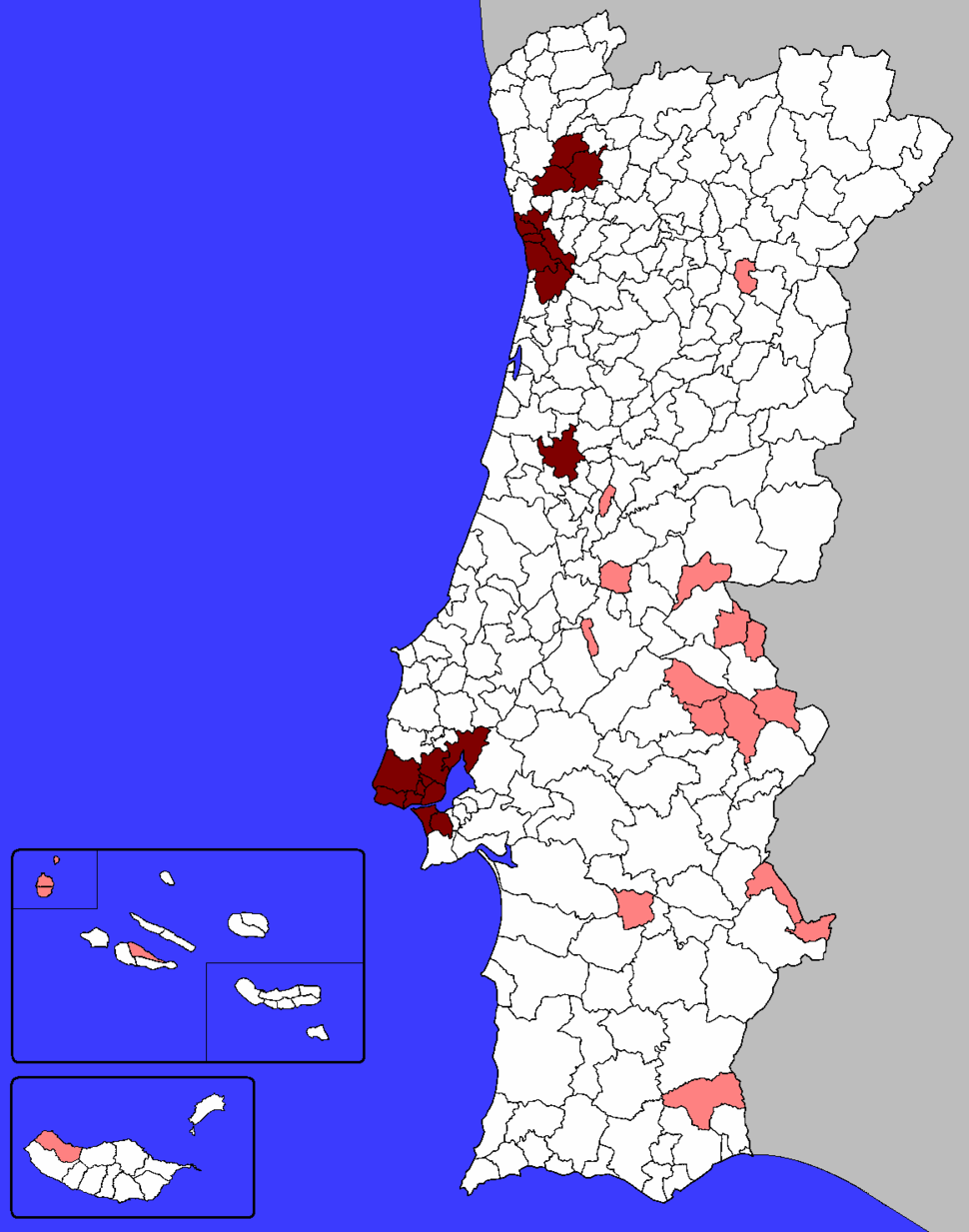 Portuguese municipalities population1