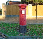 Post box on Wavertree Nook Road.jpg