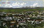 Postcard of Ljubljana from Ljubljana Castle 1910s.jpg