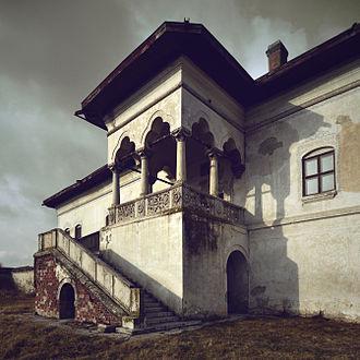Brâncovenesc style - Potlogi Palace of Constantin Brâncoveanu, Dâmbovița County.