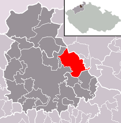 Location of Povrly