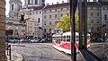 Prague tram (14759015848).jpg