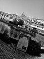 Praha, Valdštejnská zahrada černobíle - panoramio.jpg