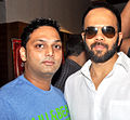 Prashant Shirsat, Rohit Shetty Cast of 'Bol Bachchan' meet fans at Fame Inorbit Mall 02.jpg