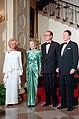 President Ronald Reagan, President Jacques Chirac, Nancy Reagan and Bernadette Chirac.jpg