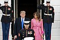 President Trump and the First Lady Welcome Colombian President Iván Duque Márquez and his wife Mrs. Maria Juliana Ruiz Sandoval to the White House (33210630938).jpg
