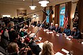 President Trump at a Roundtable about Education Choice (49198970296).jpg