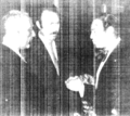 Presidents Ould Daddah and Boumediene, and King Hassan in Agadir, 1973.png