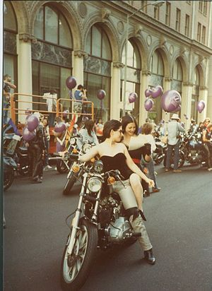 Dykes on Bikes - San Francisco Pride Parade in 1983