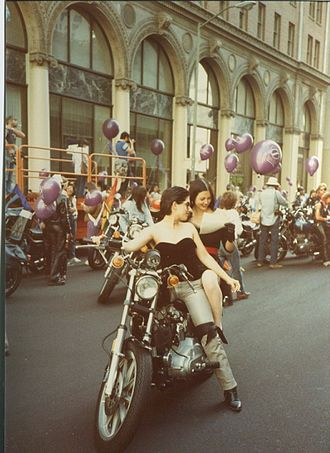 Dykes on Bikes - San Francisco Pride Parade in 1983