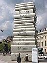 Könyvszobor Berlinben