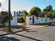 The Pro Hart gallery in Broken Hill