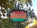Promenade named after László Kecskés (historian) in Naumburg Park, Komárom, Hungary.jpg