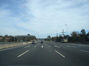 National Route 9 (Argentina) - National Route 9, San Isidro, north of Buenos Aires.