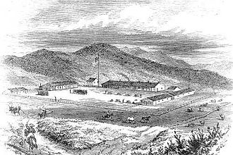 Presidio of San Francisco - The Presidio ca. 1850