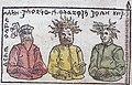Prussian gods (Peckols, Perkunas, Potrimpo).jpg