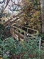 Public Footbridge over Moor Brook, Shropshire - geograph.org.uk - 606442.jpg