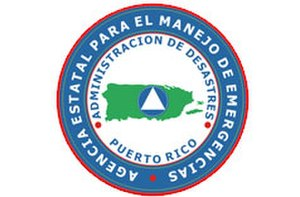 Puerto Rico State Agency for Emergency and Disaster Management - Image: Puerto rico state agency for emergency and disaster management emblem