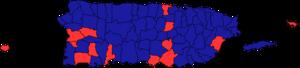 Puerto Rican general election, 1996 - Image: Puerto Rican general election, 1996 map