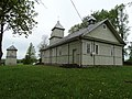 Pusnės bažnyčia, galinė dalis.JPG