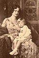 Queen Astrid of the Belgians with her daughter Joséphine-Charlotte.jpg