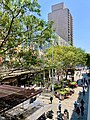 Queen Street Mall seen from the balcony of Stanton Cafe and Bar, Brisbane.jpg
