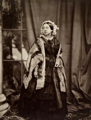 John Jabez Edwin Mayall - Queen Victoria, 1860