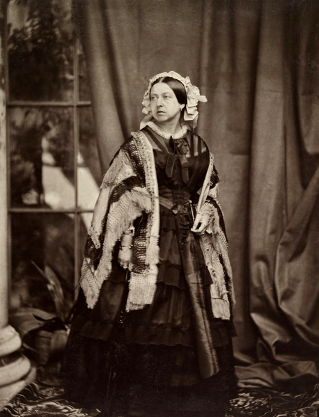 File:Queen Victoria by JJE Mayall, 1860.png