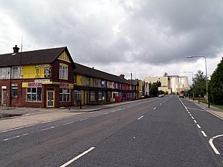 Immingham town in the North East Lincolnshire unitary authority of England